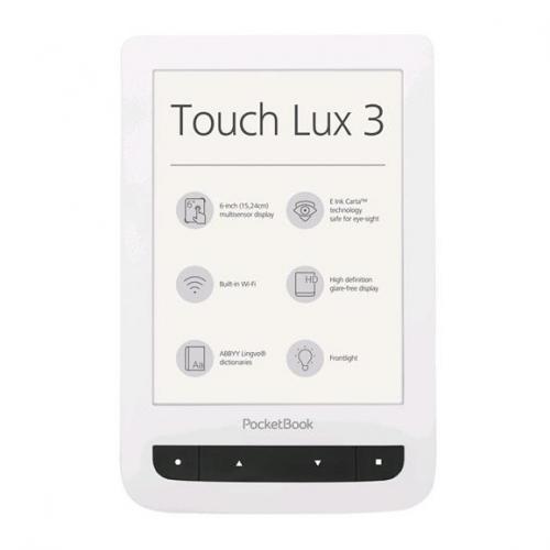 Čtečka e-knih Pocket Book 626 Touch Lux 3 - bílá