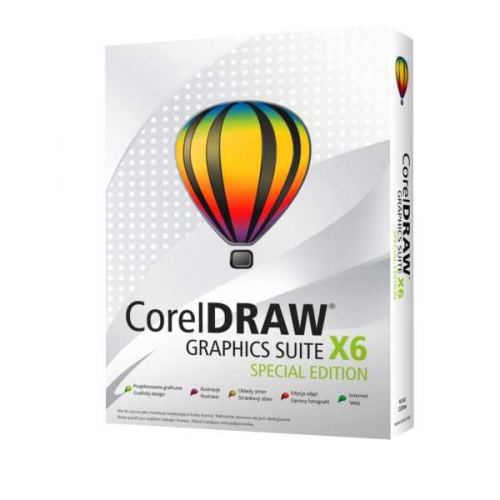 Software Corel Draw Graphic Suite X6 Special Edition CZPL EU
