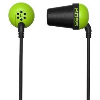 Sluchátka Koss The Plug (doživotní záruka) - zelená