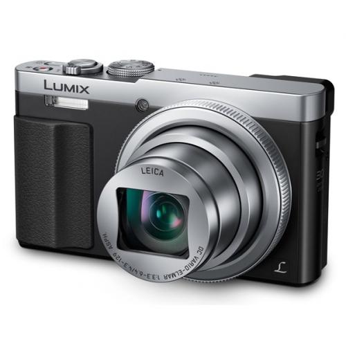 Fotoaparát Panasonic DMC-TZ70EP-S, stříbrný
