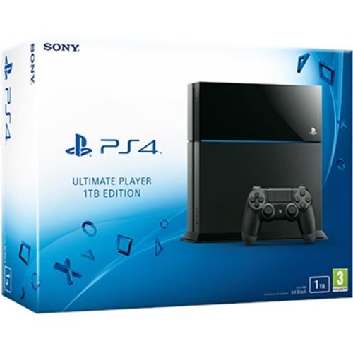 Herní konzole Sony PlayStation 4 1TB - černá