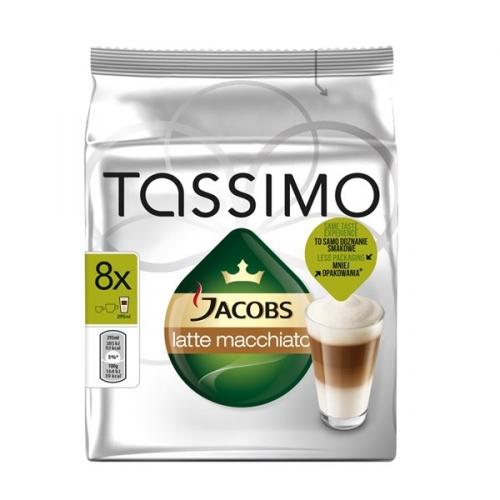 Kapsle Jacobs Krönung Latte Macchiato 264g Tassimo