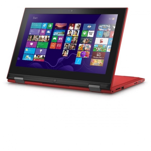 "Ntb Dell Inspiron 11z (3147) Touch Pentium N3540, 4GB, 500GB, 11.6"", HD, bez mechaniky, Intel HD 4400, BT, CAM, W10 - červený"