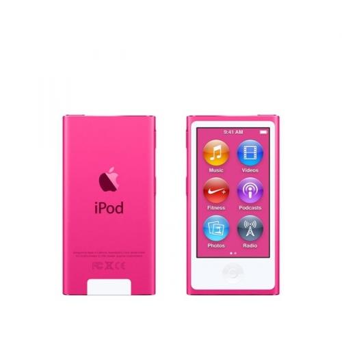 MP3 přehrávač Apple iPod nano 16GB, růžový