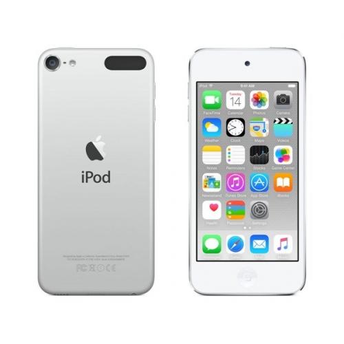 MP3 přehrávač Apple iPod touch 64GB, stříbrný