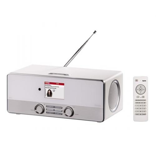 Radiopřijímač Hama DIR3110 DAB+ internetové rádio, bílý