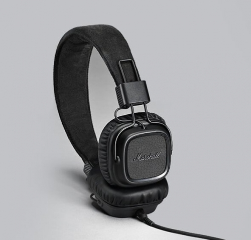 Sluchátka Marshall Major II Pitch - černá