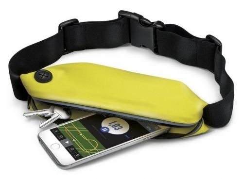 Pouzdro na mobil sportovní Celly RunBelt - žluté