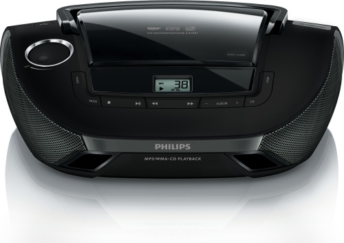 Radiopřijímač Philips AZ1837 s CD/MP3