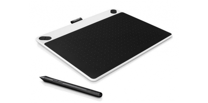 Tablet Wacom Intuos Draw Pen S - bílý