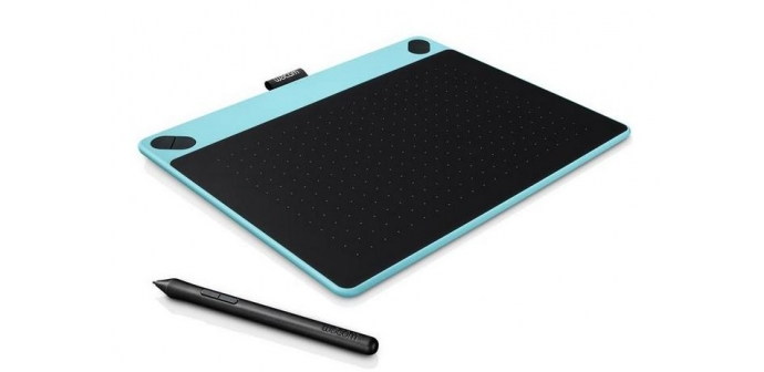 Tablet Wacom Intuos Art Pen&Touch M - modrý