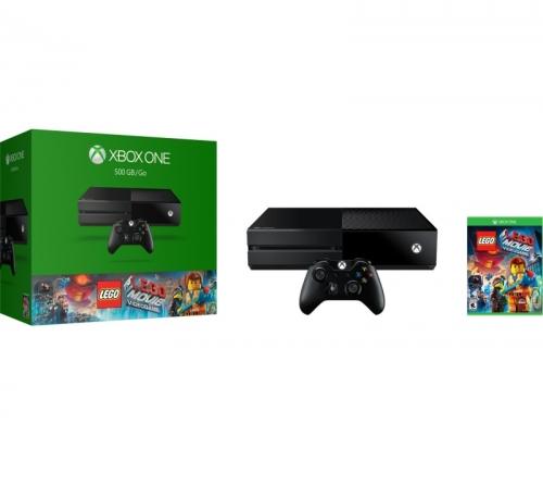 Herní konzole Microsoft Xbox One 500GB + LEGO Movie Videogame
