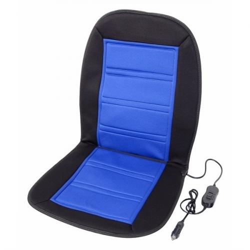 Potah sedadel Compass vyhřívaný s termostatem 12V LADDER modrý
