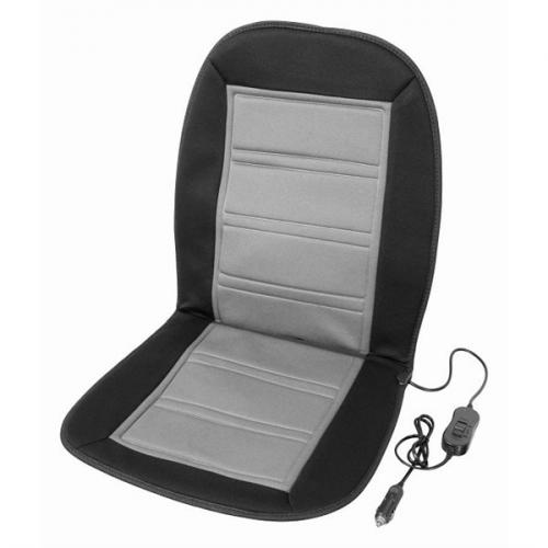 Potah sedadel Compass vyhřívaný s termostatem 12V LADDER šedý