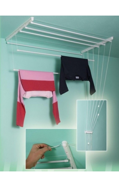 Sušák na prádlo Toro stropní