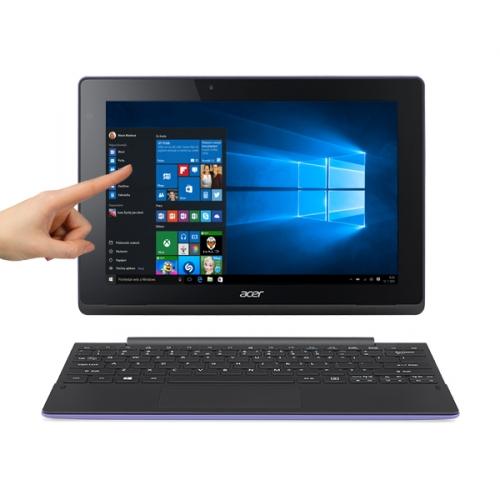 """Dotykový tablet Acer Aspire Switch 10E (SW3-016-16X9) 10.1"""", 500+64 GB, WF, BT, Win 10 + dock - fialový"""