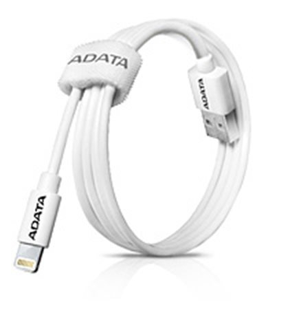 Kabel A-Data Lightning MFi 1m - bílý