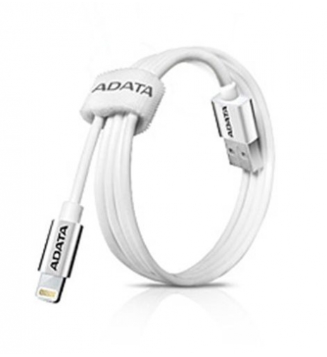 Kabel A-Data Lightning MFi 1m - titanový