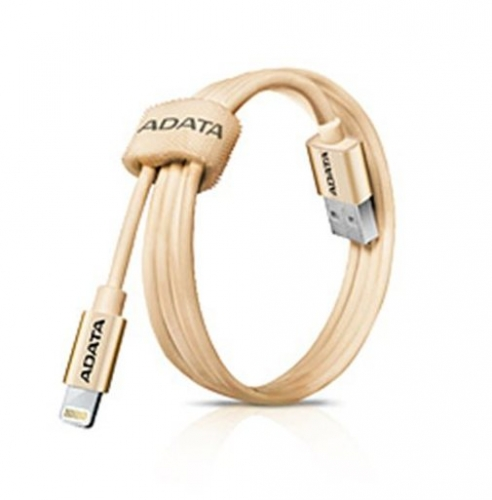 Kabel A-Data Lightning MFi 1m - zlatý