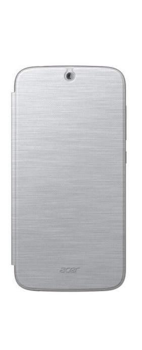 Pouzdro na mobil flipové Acer pro Liquid Z630 - stříbrné