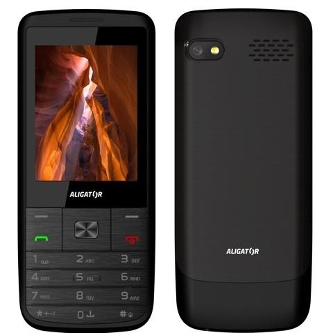 Mobilní telefon Aligator D920 Dual SIM - černý
