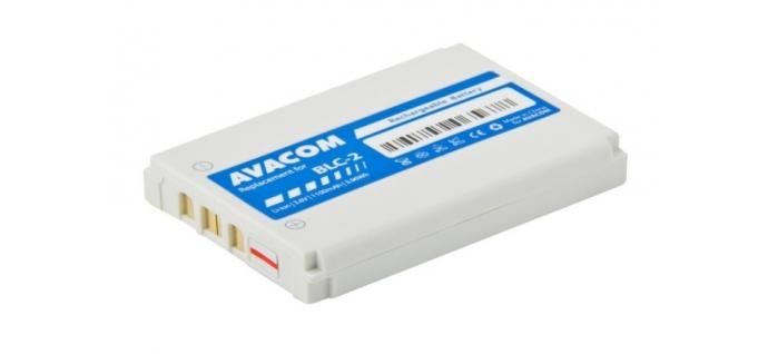 Baterie Avacom pro Nokia 3410, 3310 ,3510 Li-Ion 3,6V 1100mAh (náhrada BLC-2)