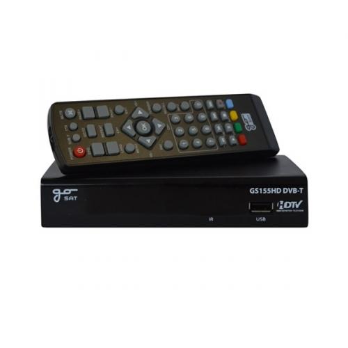 DVB-T přijímač GoSAT GS155 HD