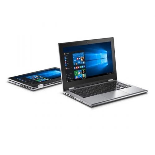 "Ntb Dell Inspiron 11z (3158) Touch i3-6100U, 4GB, 500GB, 11.6"", HD, bez mechaniky, Intel HD, BT, CAM, - stříbrný"
