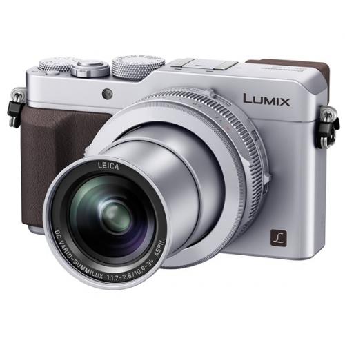 Fotoaparát Panasonic DMC-LX100EPS, stříbrný