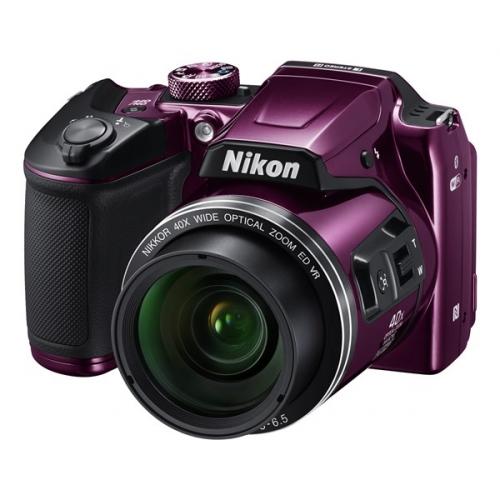 Fotoaparát Nikon Coolpix B500, fialový