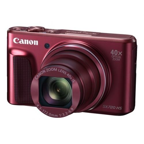 Fotoaparát Canon PowerShot SX720HS, červený