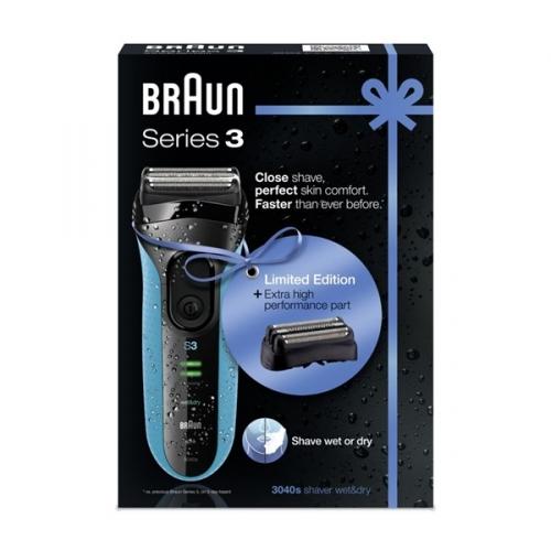Holicí strojek Braun Serie 3 3040s W&D + holící hlava 32B